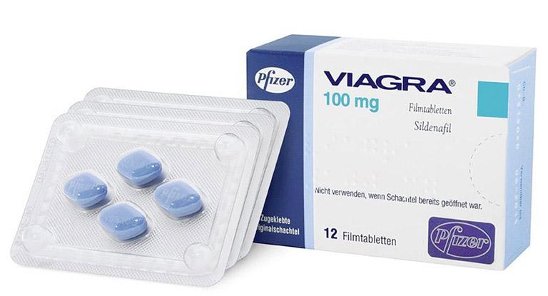 Thuốc cường dương phổ biến Viagra